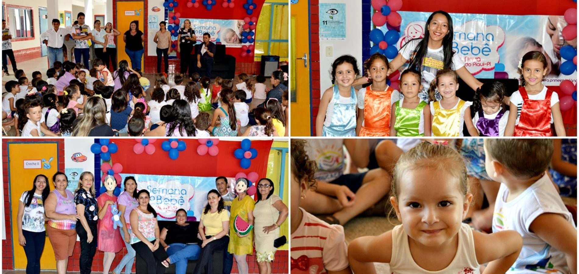 Prefeitura de Vila Nova do PI abre oficialmente a VII Semana do Bebê; veja fotos