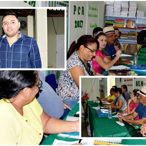 Fronteiras sedia encontro de formação para adequação e elaboração dos planos de carreira da educação