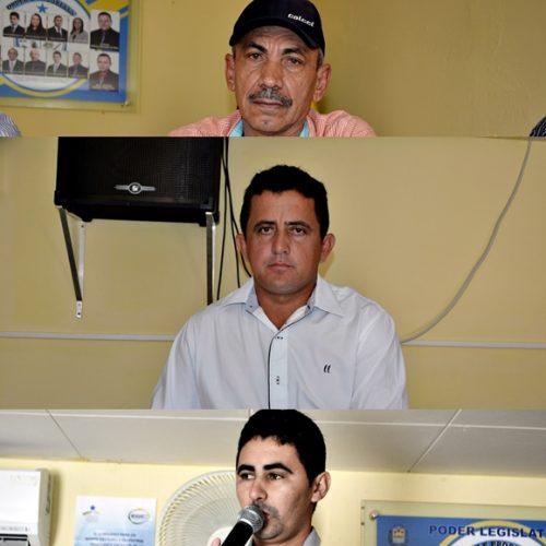 Vereadores aprovam Lei do Executivo e discursam em sessão na Câmara de Vila Nova do Piauí