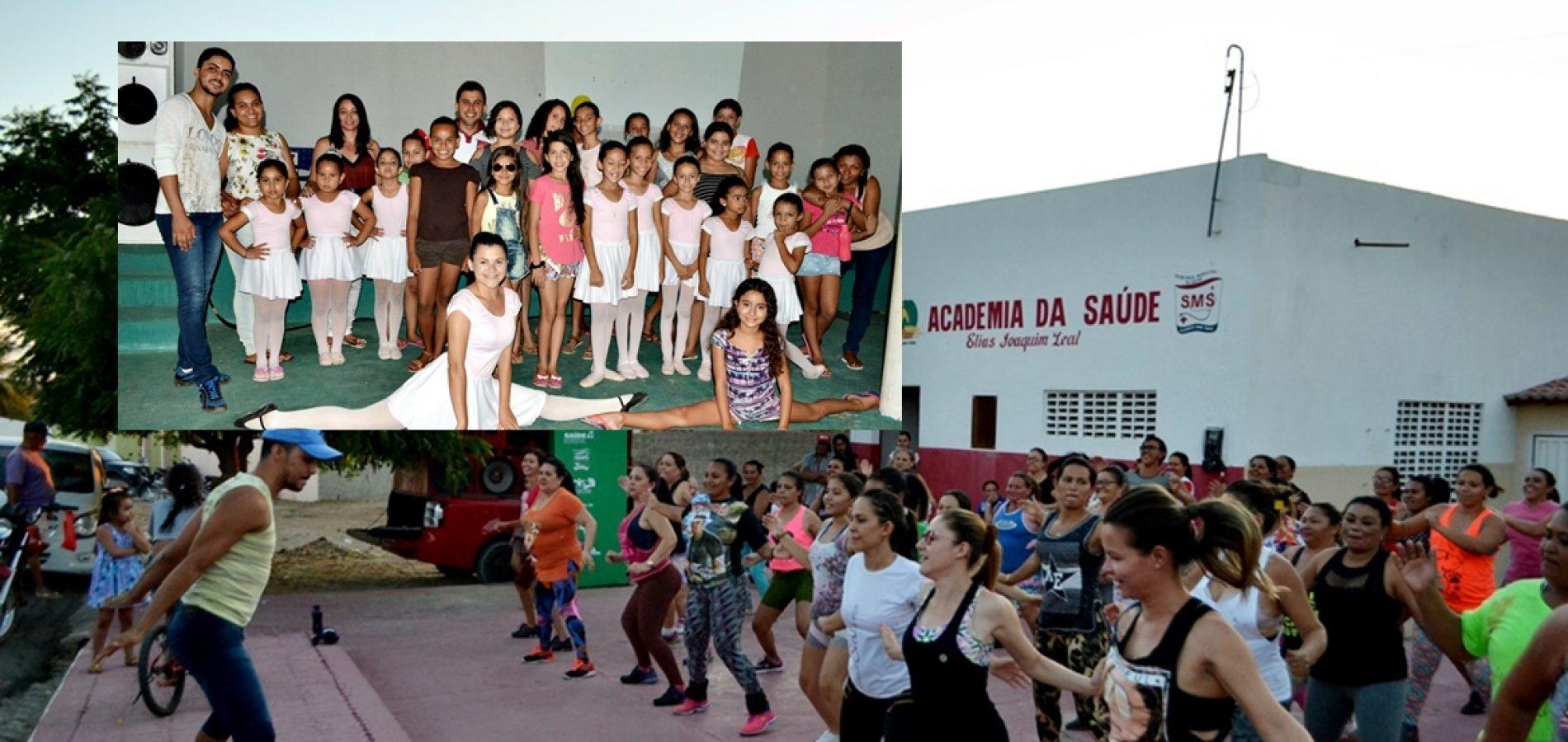 Cultura inicia um novo momento com o professor Dayron Abreu no Ballet e Zumba em Alegrete do Piauí