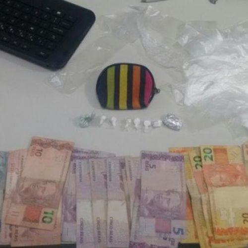 Proprietário de bar é preso suspeito de tráfico de drogas em Picos