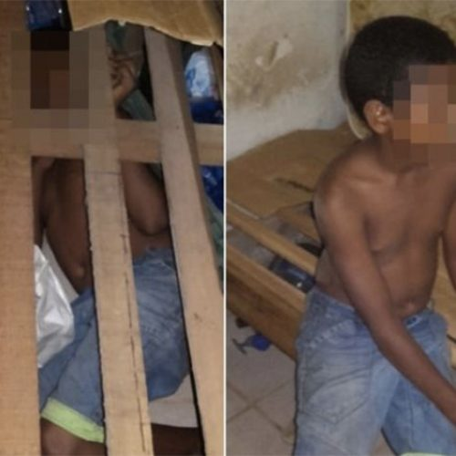 Aos 13 anos, menino achado em cela de presídio no Piauí não sabe ler e nem escrever