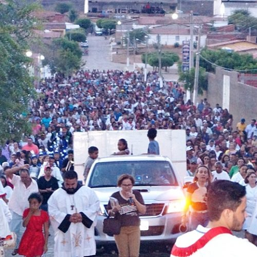 SIMÕES | Fiéis mantém tradição e participam da procissão da festa de São Simão; veja imagens