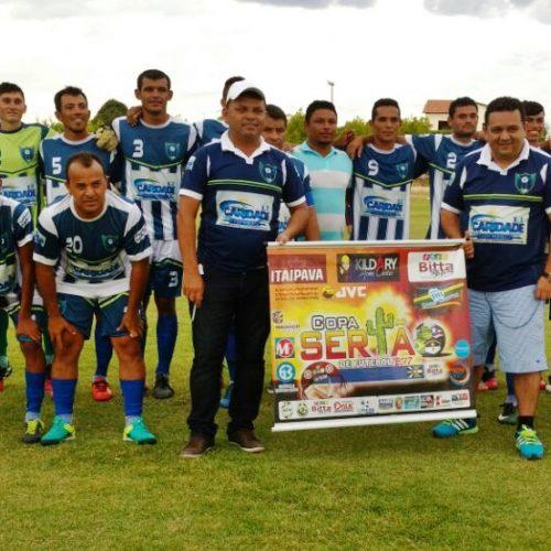 Seleção de Caridade do PI estreia com vitória na Copa Sertão
