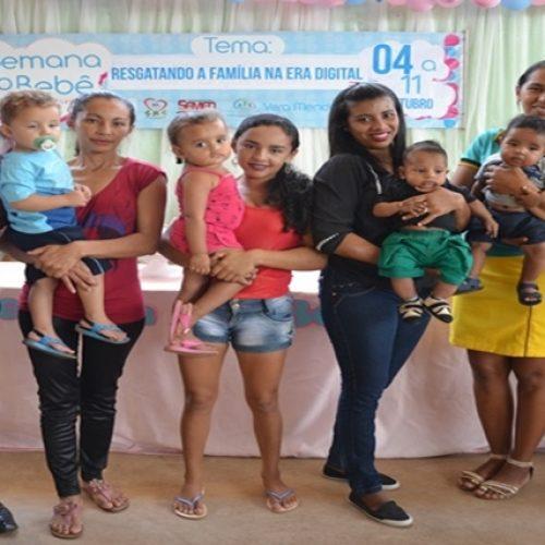 Solenidade marca abertura da 4ª Semana do Bebê em Vera Mendes