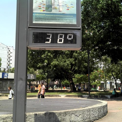 Massa de ar seco concentra altas temperaturas nos municípios do Piauí