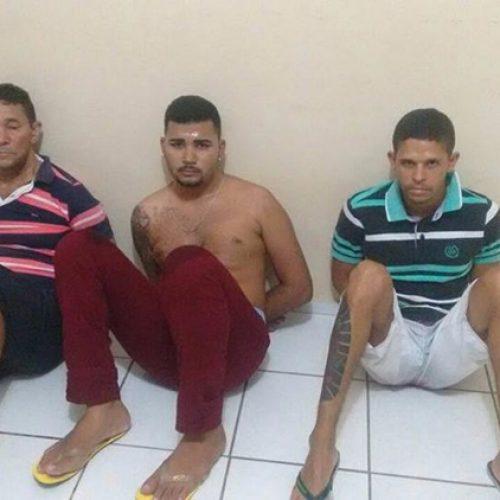 Trio é preso momentos antes de roubo a joalheria no Piauí