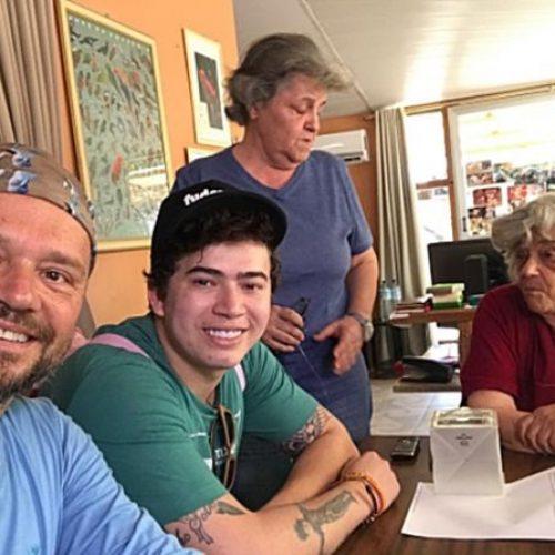 Whindersson Nunes e Richard Rasmussen visitam a Serra da Capivara