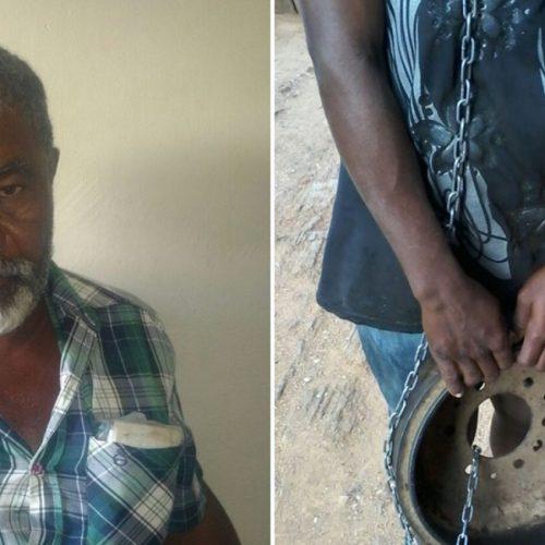 Mulher acorrentada pelo pai em Jacobina do Piauí tem filha com deficiência mental