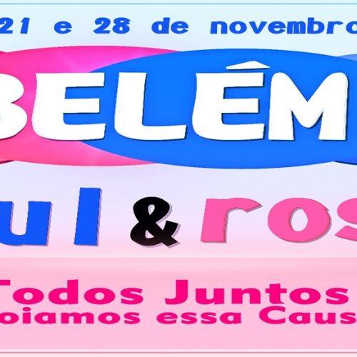 Campanha 'Belém Azul & Rosa' vai direcionar ações para saúde do homem e da mulher