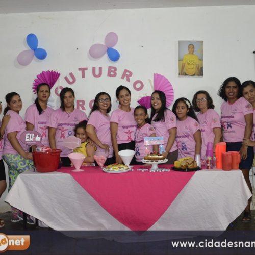 JAICÓS    Grupo de capoterapia promove movimento Rosa Azul