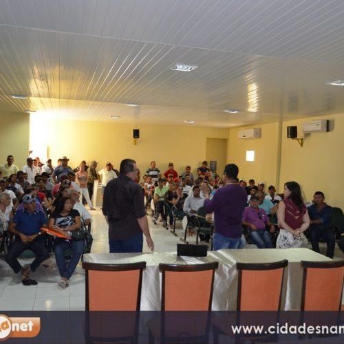 Banco do Nordeste reúne agricultores e trata sobre descontos e renegociações de empréstimos rurais em Caldeirão Grande