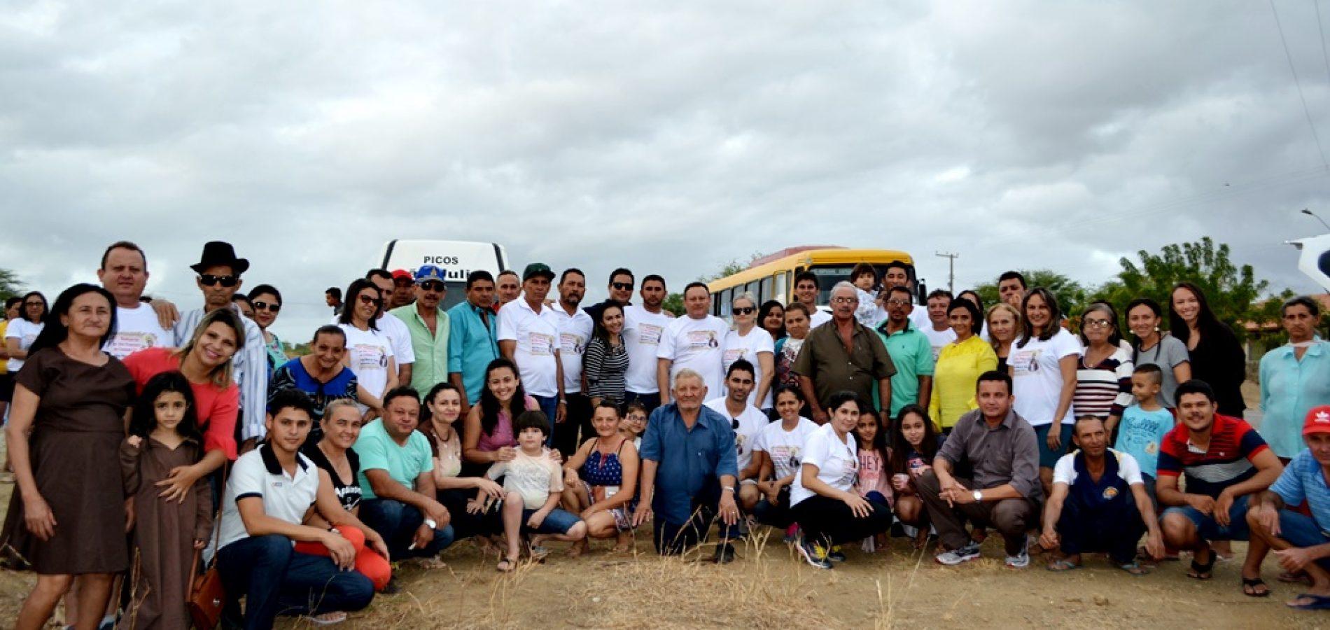 Romeiros de Vila Nova participam da 17ª Romaria de São Francisco ao Canindé – CE; veja fotos do 1º dia