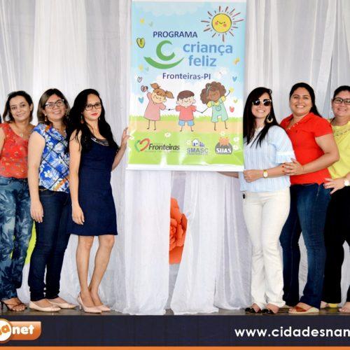 Secretaria de Assistência Social lança Programa Criança Feliz e beneficiará cerca de 100 famílias em Fronteiras – PI; fotos