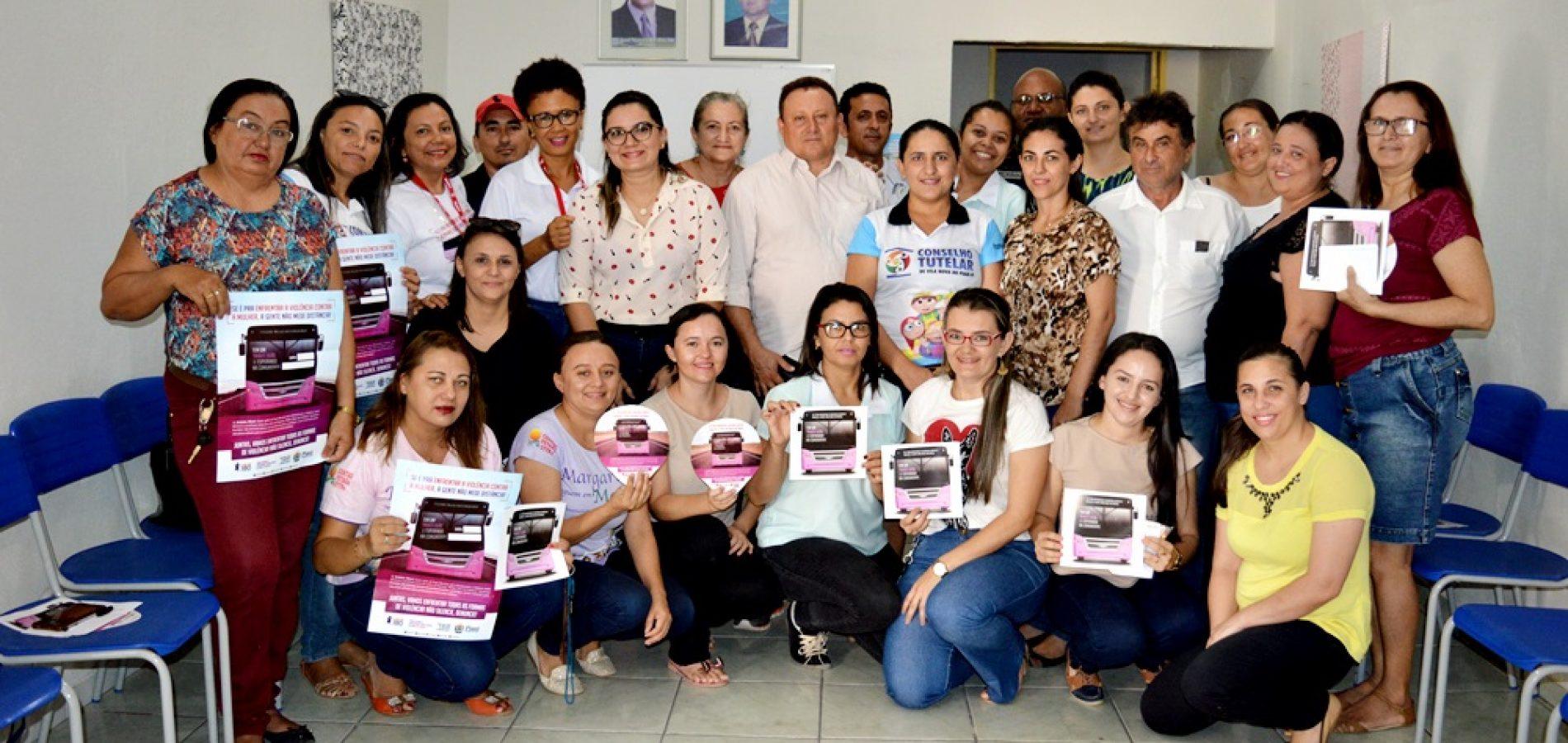 VILA NOVA   Ônibus lilás com ações para as mulheres virá ao Povoado São João Batista no dia 28/11