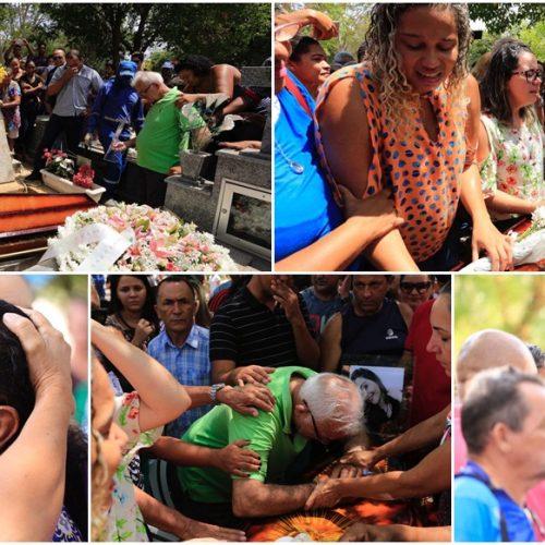 Comoção e revolta marcam o enterro da estudante Camilla Abreu; Vídeo