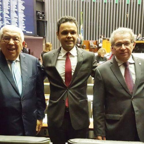 Prefeito de Jacobina do Piauí vai a Brasília em busca de recursos para o município