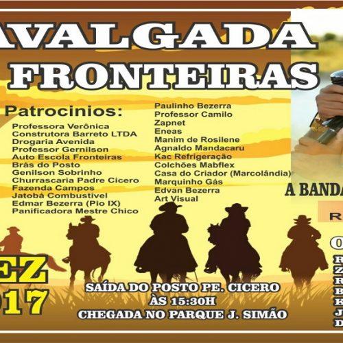 Grupo de amigos realizarão 'I Cavalgada de Fronteiras' no dia 16 de dezembro