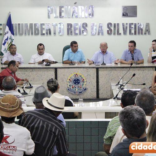 Deputado Júlio César reúne agricultores em Jaicós e esclarece sobre renegociação de empréstimos rurais