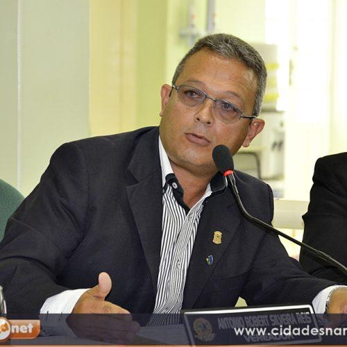 JAICÓS  Vereador Robim solicita recolocação de grades na quadra Geraldo Matos Silveira