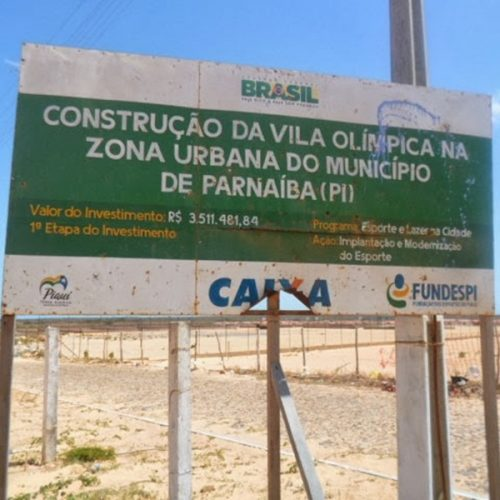 TCU aponta irregularidade em obra de Vila Olímpica no Piauí e determina paralisação