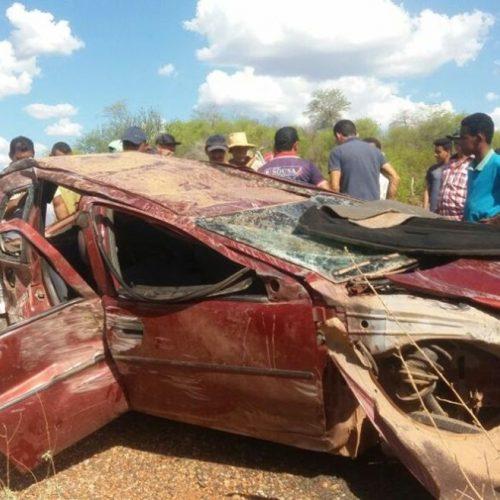 Acidente na zona rural de Isaías Coelho deixa uma pessoa morta e outra ferida