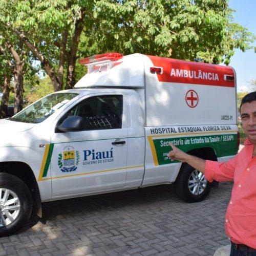 Prefeito Neném de Edite vai entregar duas ambulâncias para Jaicós