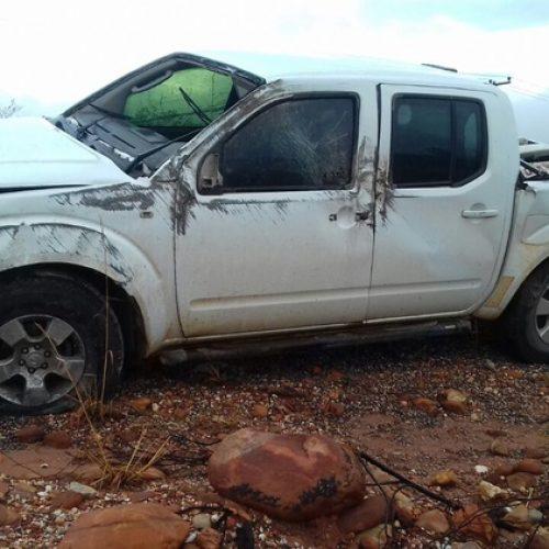 Juiz federal perde controle de veículo e sofre grave acidente no sul do Piauí