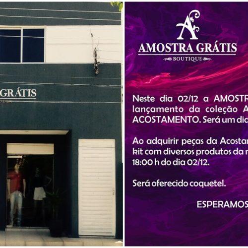 JAICÓS | Amostra Grátis Boutique lança coleção Acostamento Alto Verão 2018 neste sábado (02)