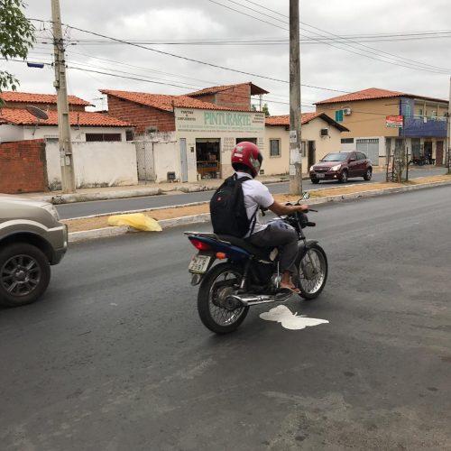 Ação homenageia vítimas de acidentes de trânsito no Piauí