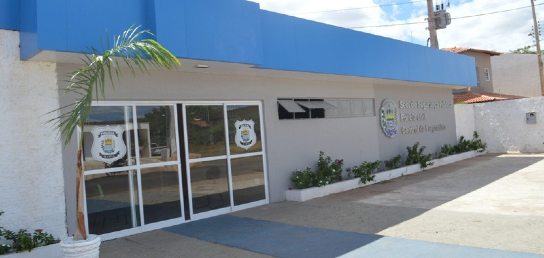 """Suspeito de """"agiotagem"""" e ameaça a clientes que não pagavam débitos é preso pela Polícia Civil de Picos"""