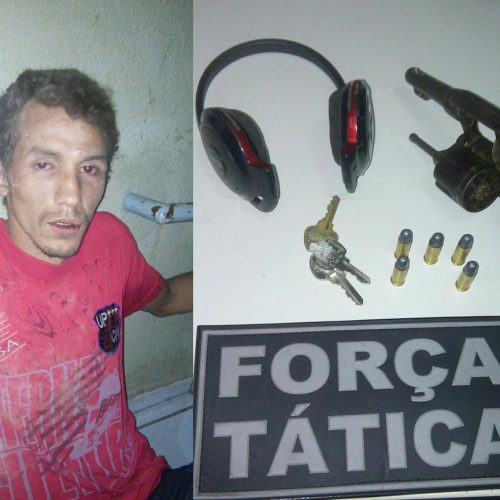 Suspeito de assaltar Posto Ipiranga em Picos é preso
