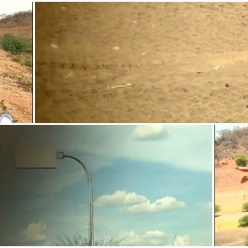 Reportagem do Câmera Record retrata seca no município de Pio IX