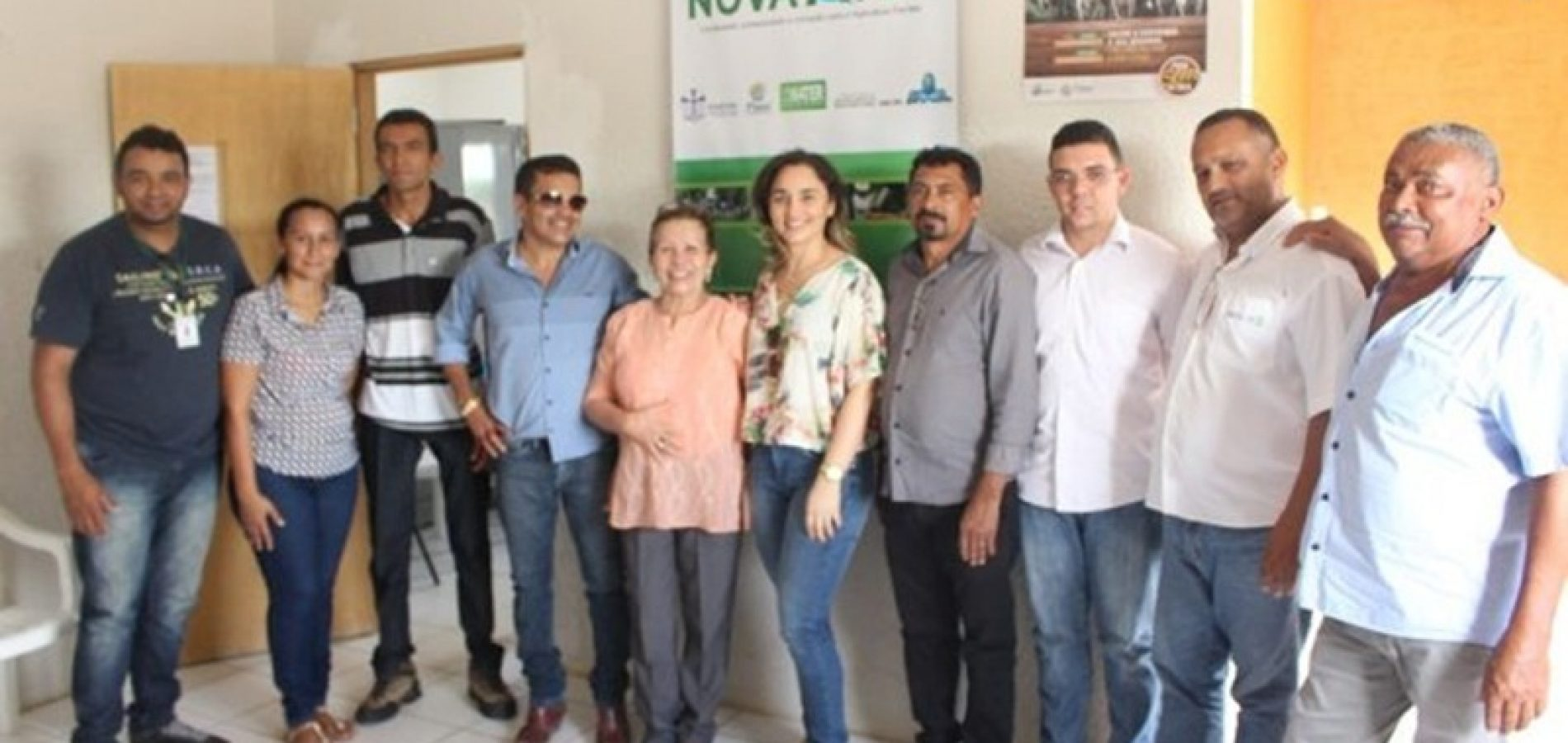 Emater realiza encontro de planejamento de ações do Projeto Dom Hélder Câmara em Campo Grande do Piauí