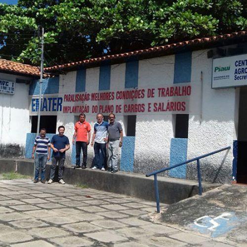 Servidores do Emater-PI iniciam paralisação e serviços ficam suspensos