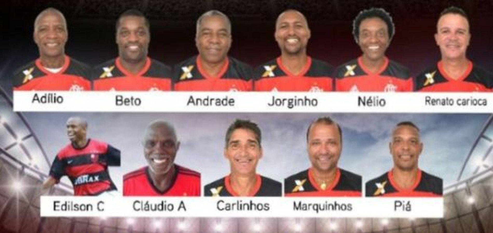 Craques do Flamengo participarão de jantar e jogos amistosos no Piauí