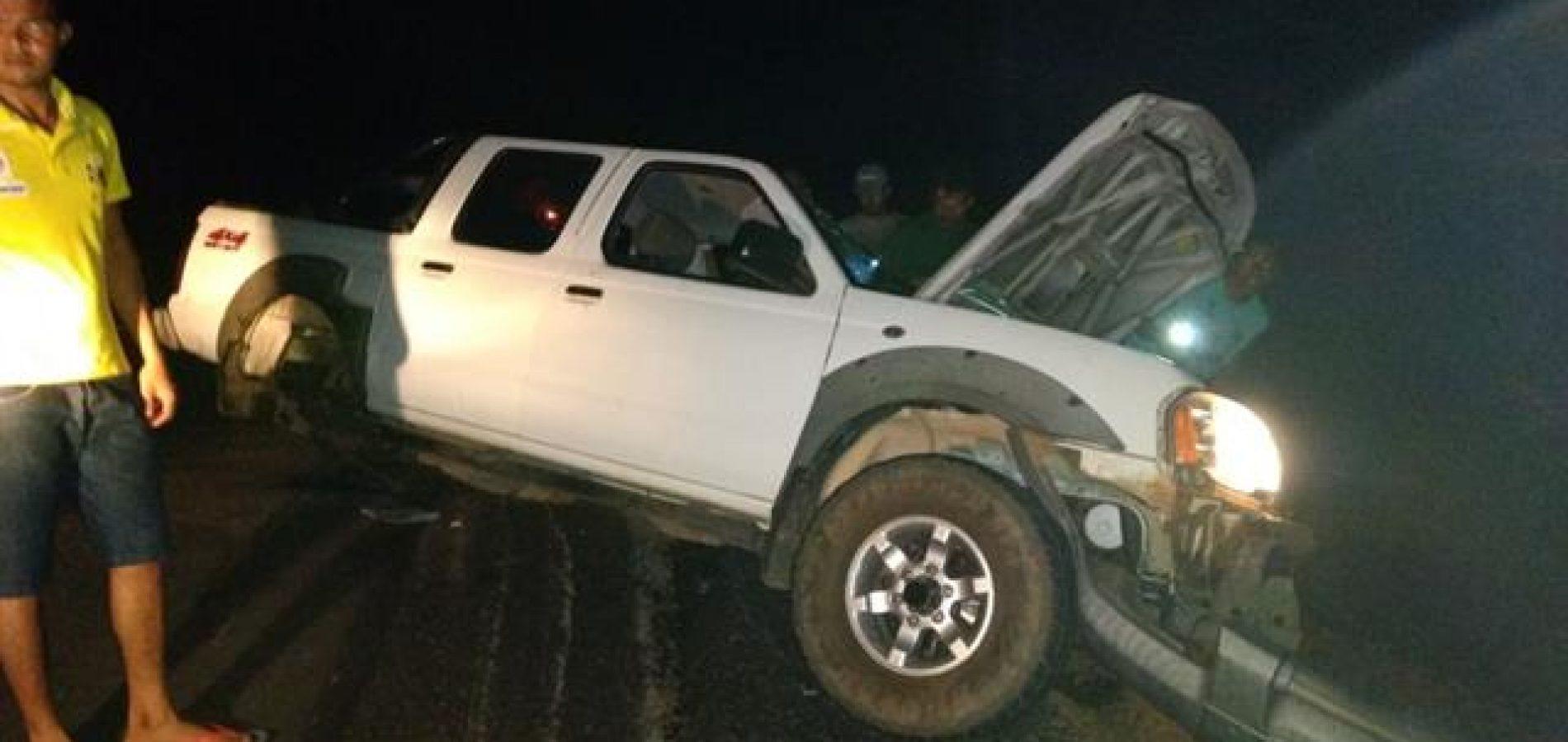 Servidor da Sefaz morre durante troca de tiros em assalto a carreta; veja imagens