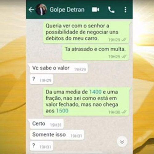 """Golpe: bandidos criam perfil falso de diretor do Detran para """"quitar multas"""""""