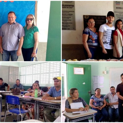 Universidade Aberta do Piauí realiza aula inaugural do 1º curso de bacharelado em Administração em Vila Nova do Piauí