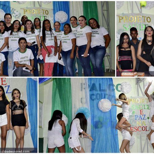 """Projeto """"Saúde e Paz na Escola"""" é realizado pela rede estadual de ensino de Massapê do Piauí"""