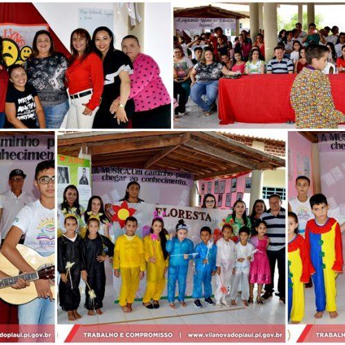 VILA NOVA| Escola Municipal Zacarias Manoel da Silva realiza culminância de três grandes Projetos; veja fotos
