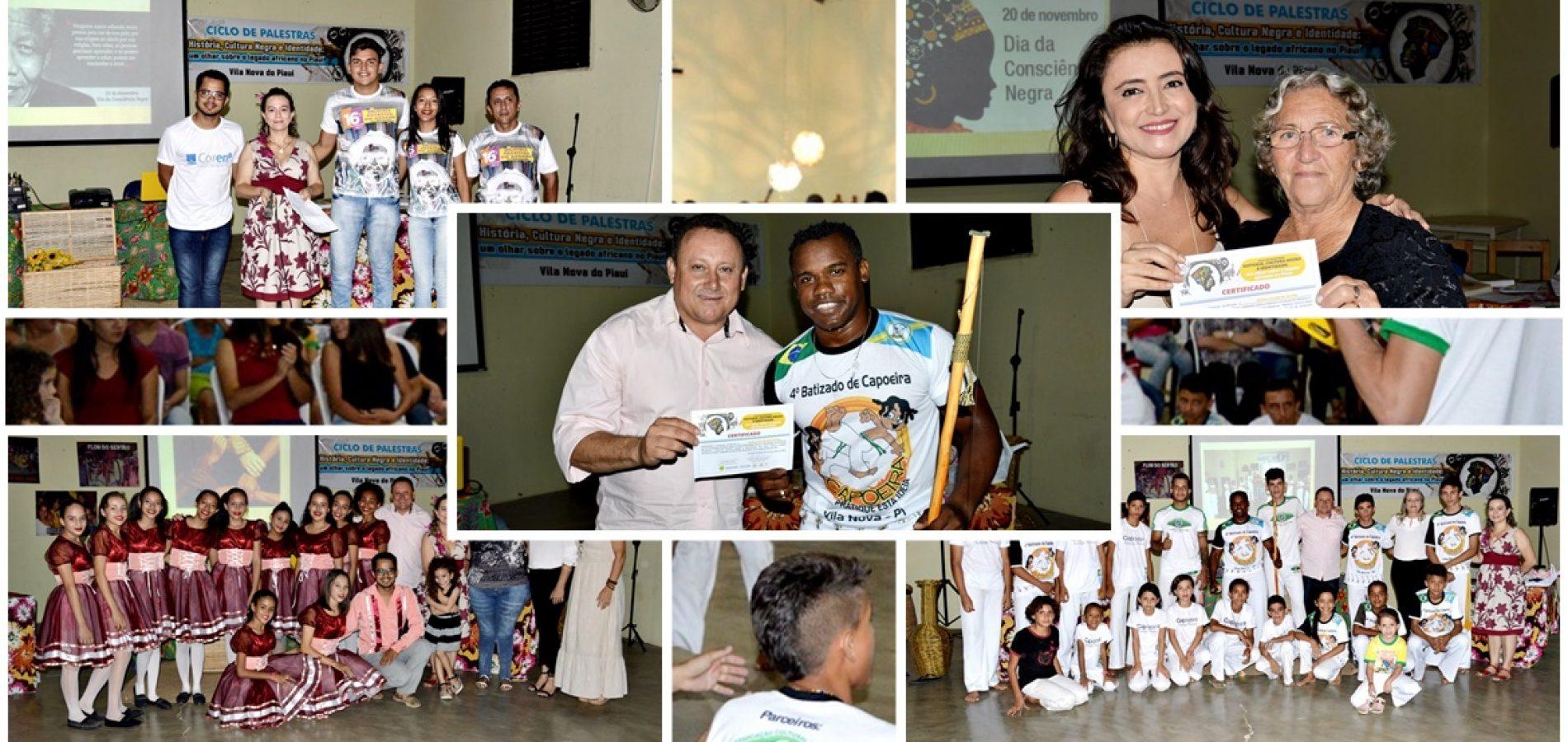 Com grande público, Secretaria de Cultura encerra II Ciclo de palestras sobre a consciência negra em Vila Nova do PI