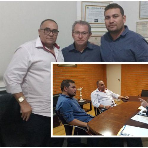 Vice-prefeito Pereira e vereador Lázaro fortalecem parceria com deputados e buscam investimentos para Francisco Macedo