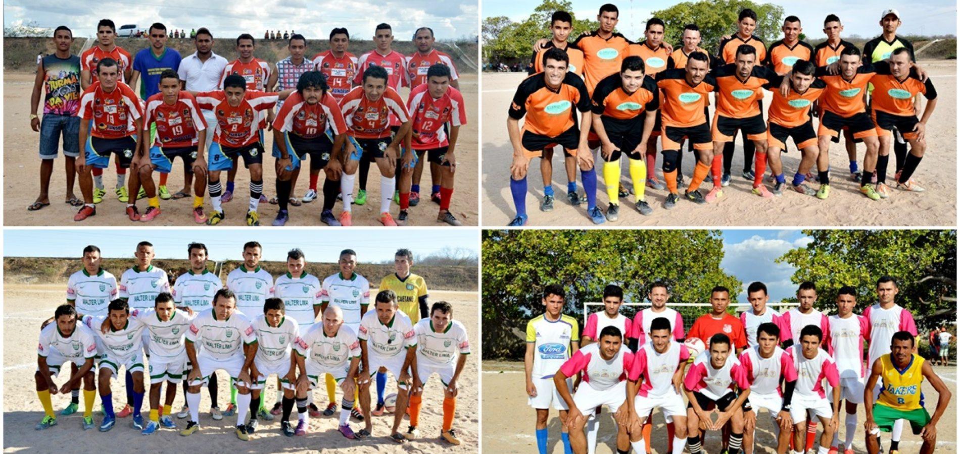 Veja a classificação dos times, após a 3ª rodada do Campeonato Municipal de Vila Nova do PI
