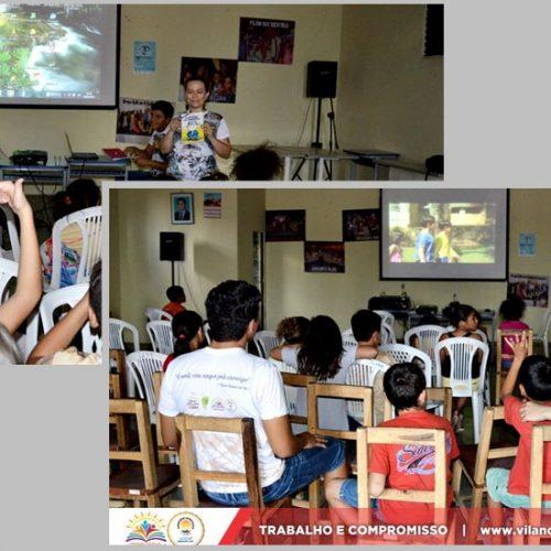 Exibição de filmes marca comemoração do Dia Nacional do Livro em Vila Nova do Piauí