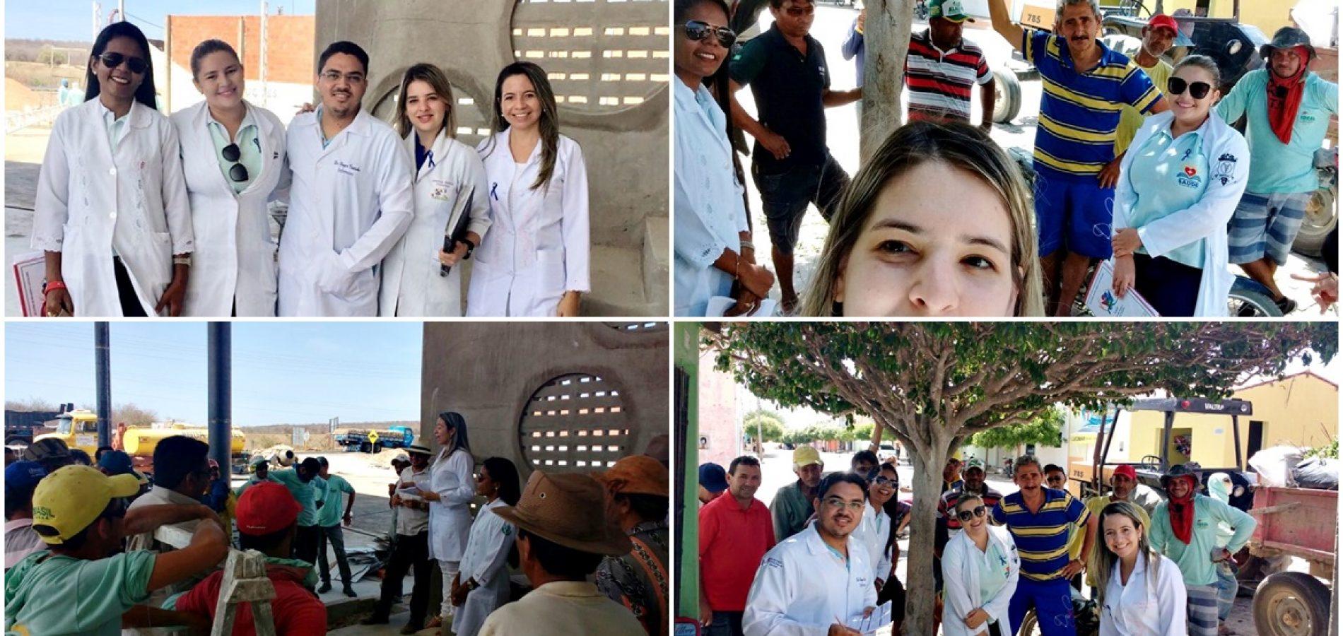 Em Vila Nova, Saúde e NASF direcionam ações à saúde do homem em alusão ao 'Novembro Azul'. Veja fotos!