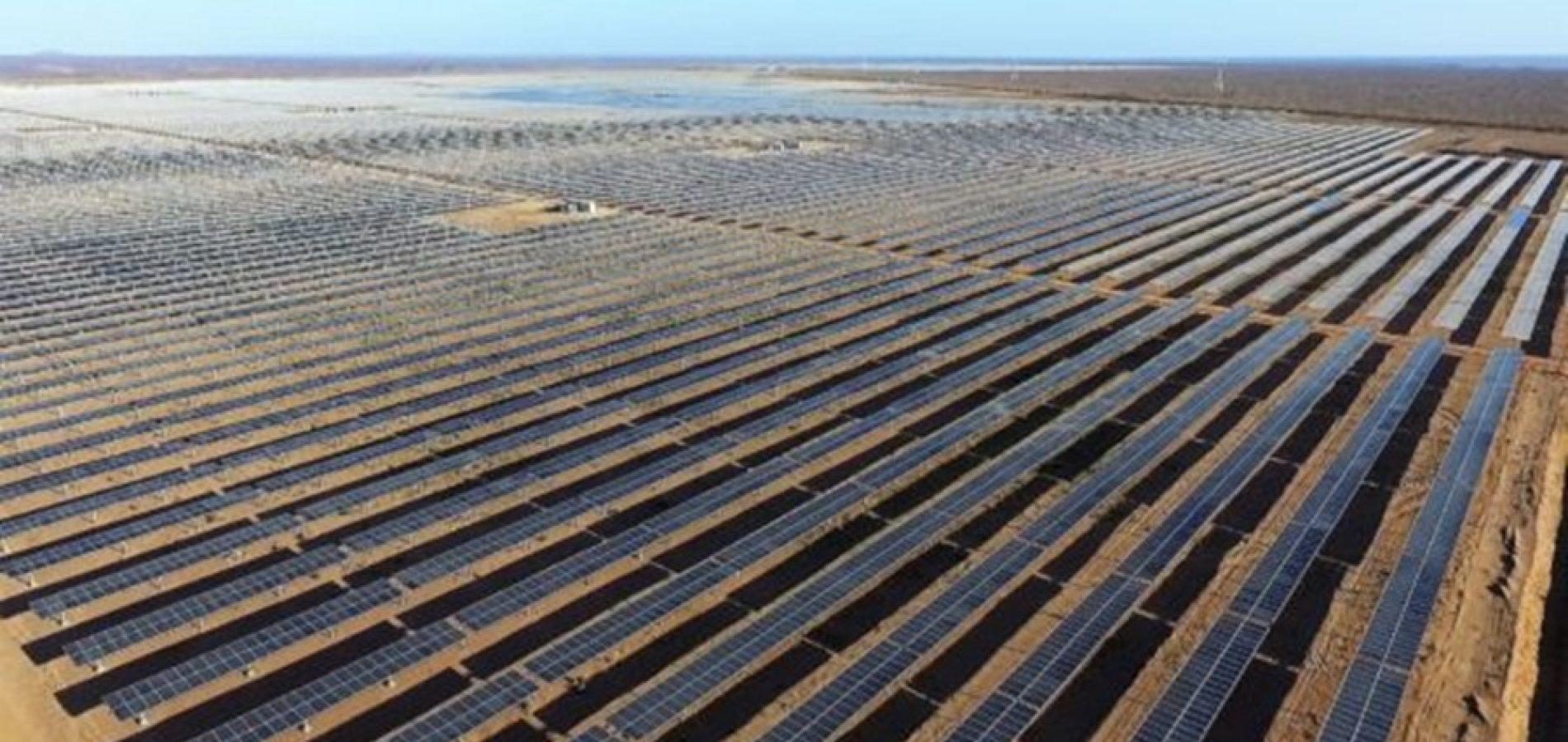 Maior usina solar da América do Sul entra em operação no interior do Piauí