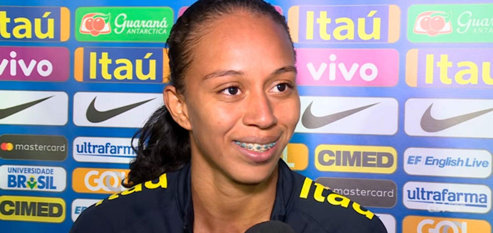 Piauiense volta a ser convocada para a seleção brasileira de futebol