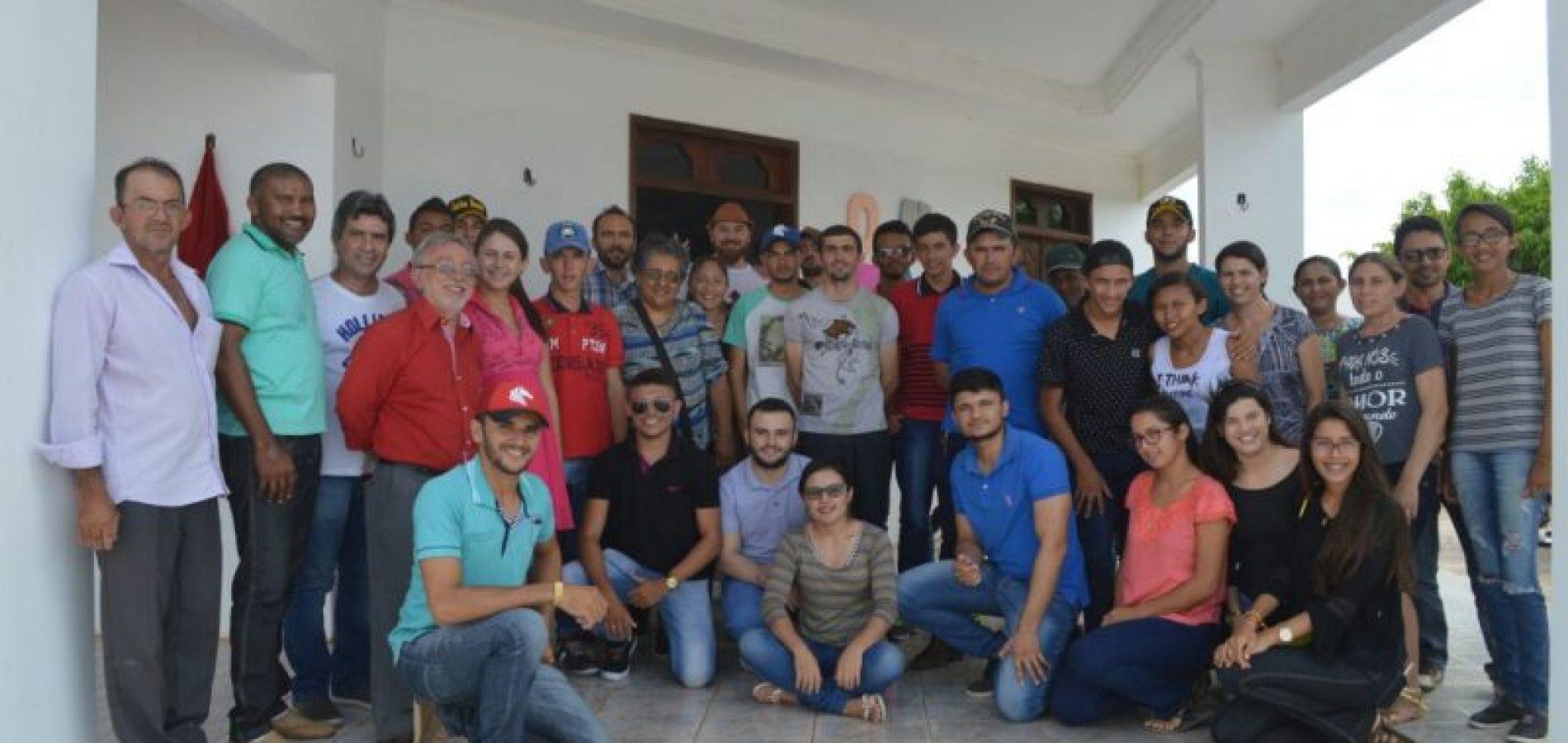Prefeitura promove I Encontro de Jovens Rurais em Jacobina do Piauí