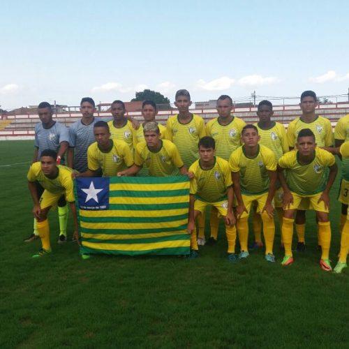 Seleção Piauiense de Futebol estreia com vitória na Copa Estadual de Seleções Sub-20